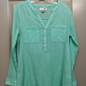 Old Navy linen tunic top
